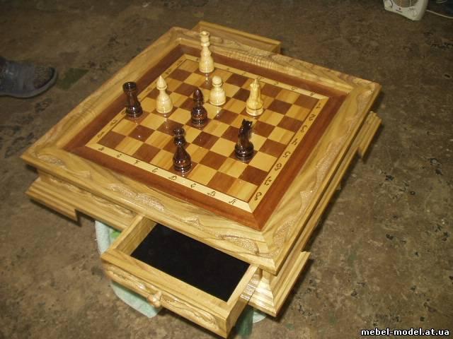 Шахматная доска своими руками фото
